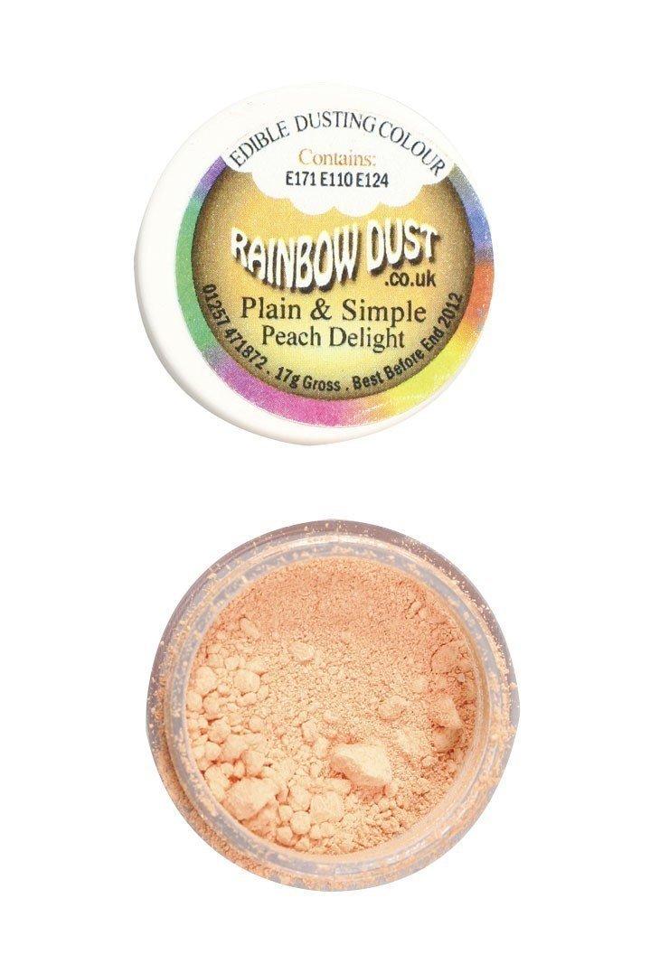 Rainbow Dust - Edible Dust Matt Peach Delight - Βρώσιμη Σκόνη Ματ Ροδακινί