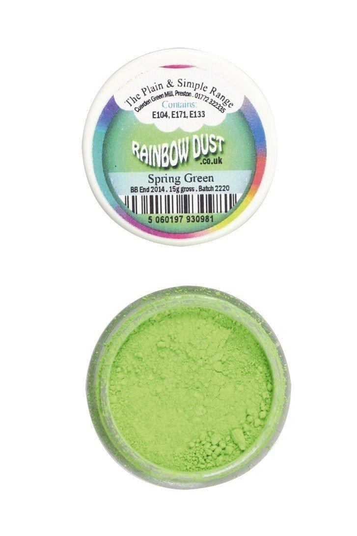 Rainbow Dust - Edible Dust Matt Spring Green - Βρώσιμη Σκόνη Ματ Πράσινο της Άνοιξης