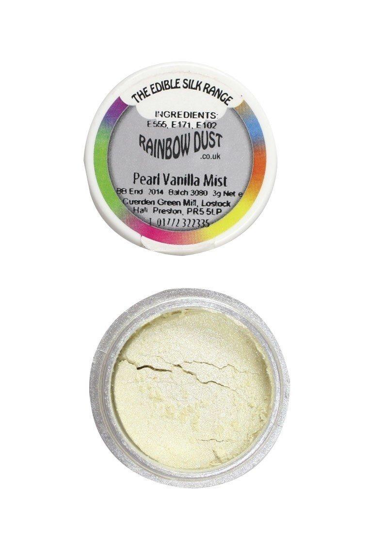 "Rainbow Dust -Edible Dust -Pearl Vanilla Mist-Βρώσιμη Σκόνη Περλέ -""Ομίχλη Βανίλιας"""
