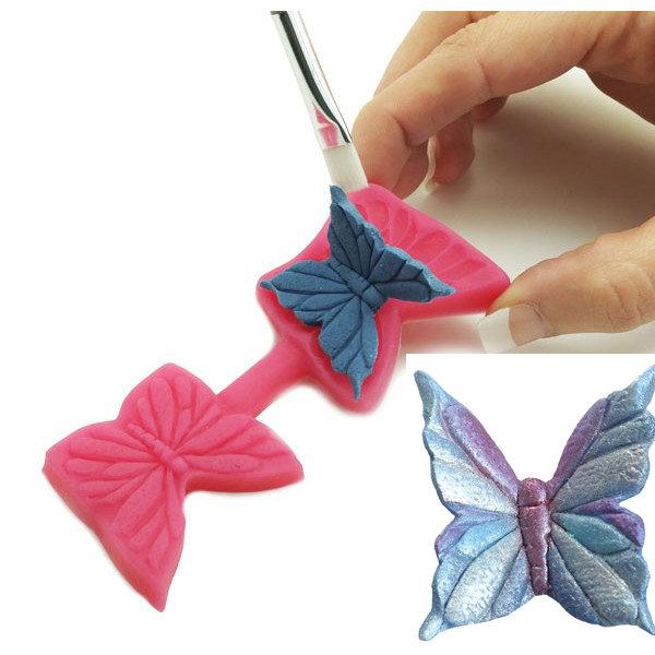 Blossom Art - Elegant Butterfly Cutter & Mould - Λεπτεπίλεπτη Πεταλούδα Καλούπι & Κουπάτ - Περίπου 30χιλ