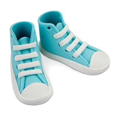 PME Edibles -Sugar High Cut Blue Sneakers -Βρώσιμα Ζαχαρένια Μπλε Αθλητικά Παπούτσια
