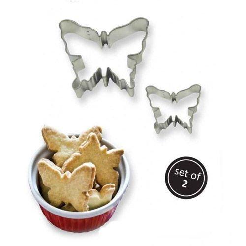 PME Cookie Cutters -Set of 2 -BUTTERFLIES -Κουπάτ Πεταλούδες 2 τεμ
