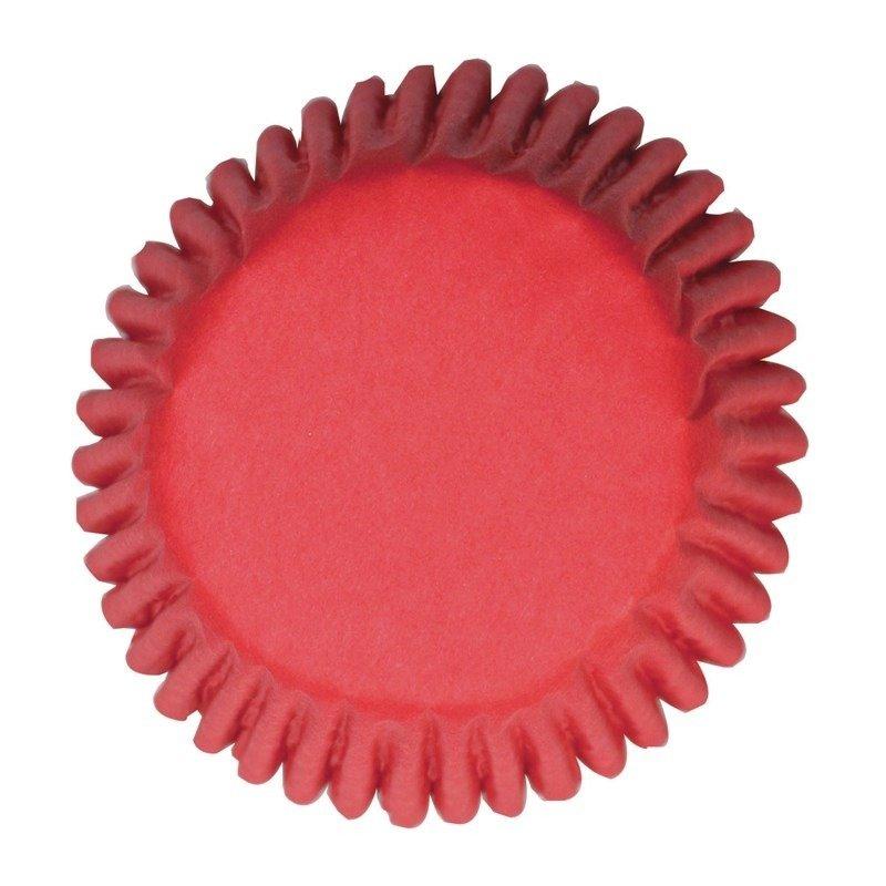 Cake Star Cupcake Cases -PLAIN RED -Κόκκινες Θήκες Ψησίματος 50 τεμ