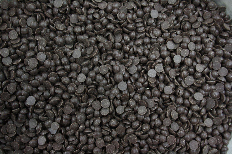 Chocolate Drops - Dark Chocolate Couverture 1k - Σταγόνες Σοκολάτας Yγείας (Κουβερτούρα) - 1 κιλό