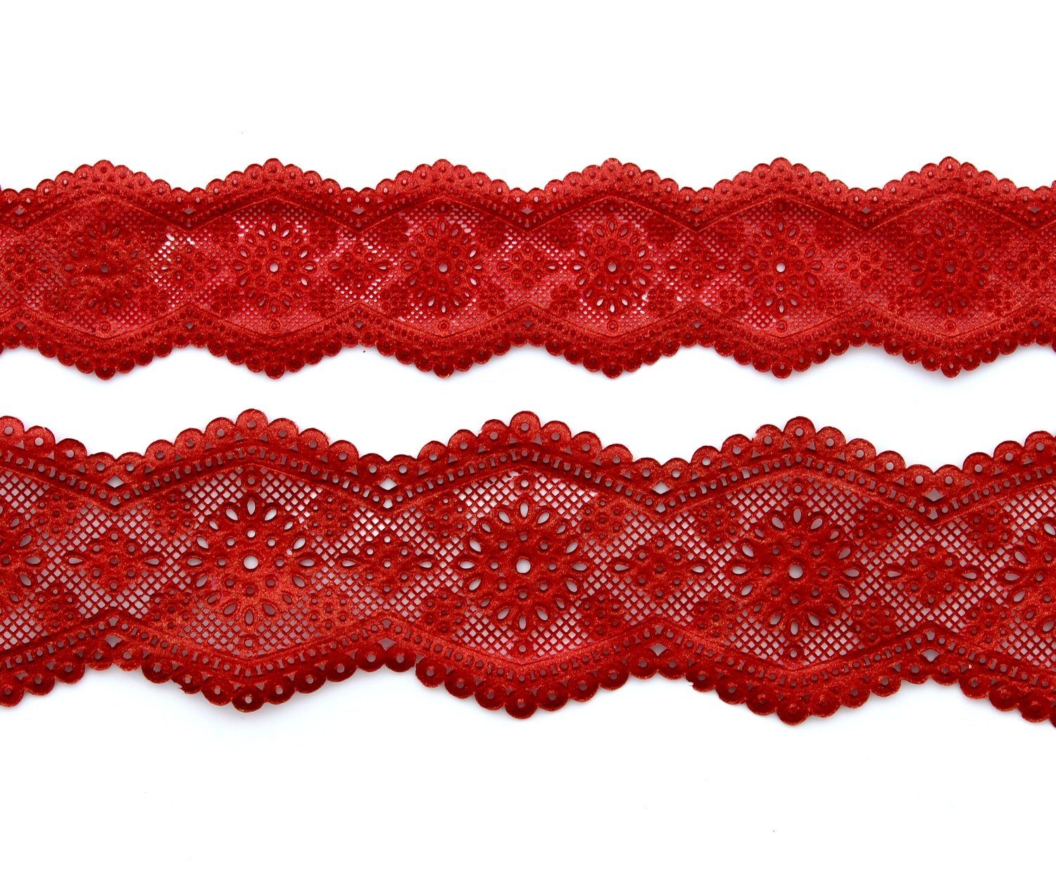 SALE!!! Claire Bowman - 3D & 2D Cake Lace Mat Broderie Anglaise - Τρισδιάστατο & Δισδιάστατο Πατάκι δαντέλας με σχέδιο Βελονάκι Broderie Anglaise
