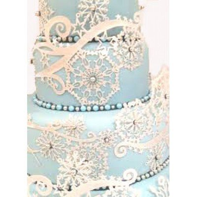 Claire Bowman Cake Lace Mat -CRYSTAL -Πατάκι Δαντέλας -Κρύσταλλο