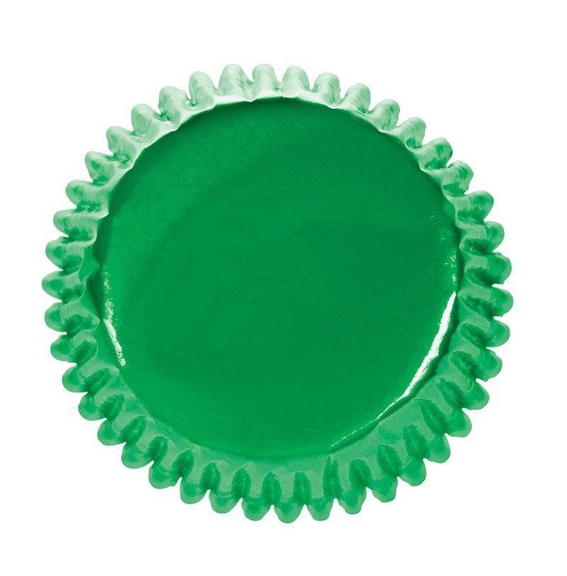 Culpitt Cupcake Cases -METALLIC GREEN -Αλουμινένιες Θήκες Ψησίματος -Μεταλλικό Πράσινο 45τεμ