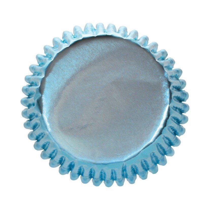 Culpitt Cupcake Cases -METALLIC ICE BLUE -Αλουμινένιες Θήκες Ψησίματος -Μεταλλικό Μπλε του Πάγου 45 τεμ