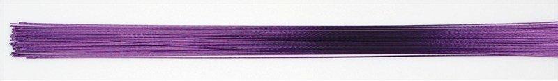 SALE!!! Culpitt - Floral Wire Purple 24gauge - Σύρμα Λουλουδιών - Μωβ - 50τεμ/πακέτο - 0.51χιλ