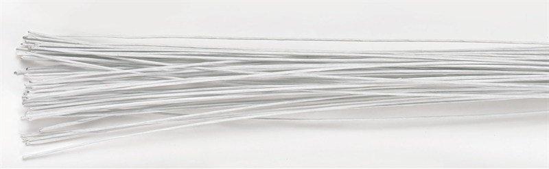 Culpitt Floral Wire -WHITE -24 gauge -Σύρμα Λουλουδιών -Λευκό 50 τεμ