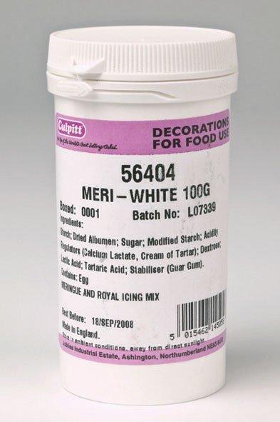 Culpitt Meri White -Λευκή Σκόνη Υποκατάστατο Αυγού 100γρ