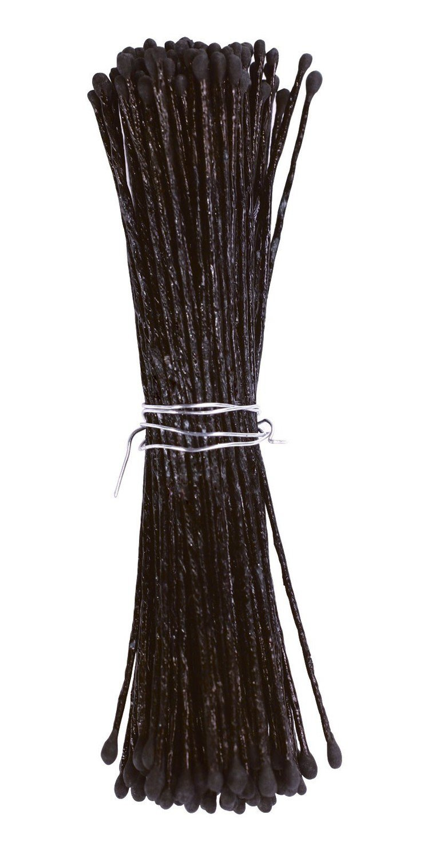 Culpitt - Stamens Black Small - Στήμονες Διπλής Όψης για Λουλούδια - Μαύρο - 72τεμ/πακέτο - Περίπου 60χιλ