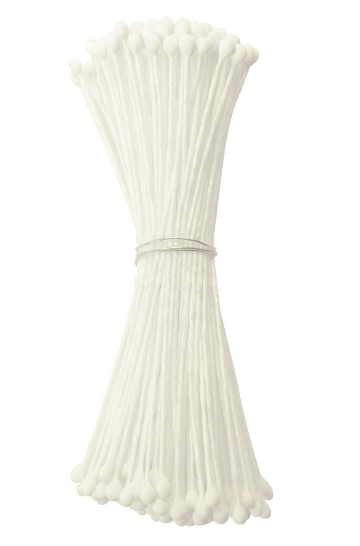 Culpitt Stamens -WHITE -MEDIUM -Στήμονες Μεσαίες Διπλής Όψης για Λουλούδια -Ματ Λευκό 72 τεμ