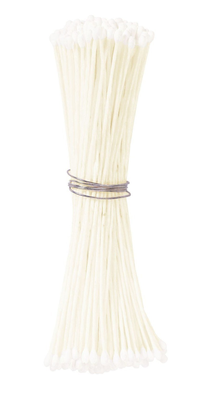 Culpitt Stamens -WHITE -SMALL -Στήμονες Μικρές Διπλής Όψης για Λουλούδια -Λευκό 72 τεμ