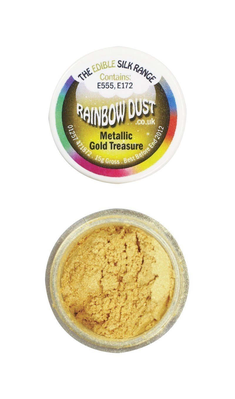 Rainbow Dust - Edible Dust Metallic Gold Treasure - Βρώσιμη Σκόνη Μεταλλική Χρυσό Θησαυρό