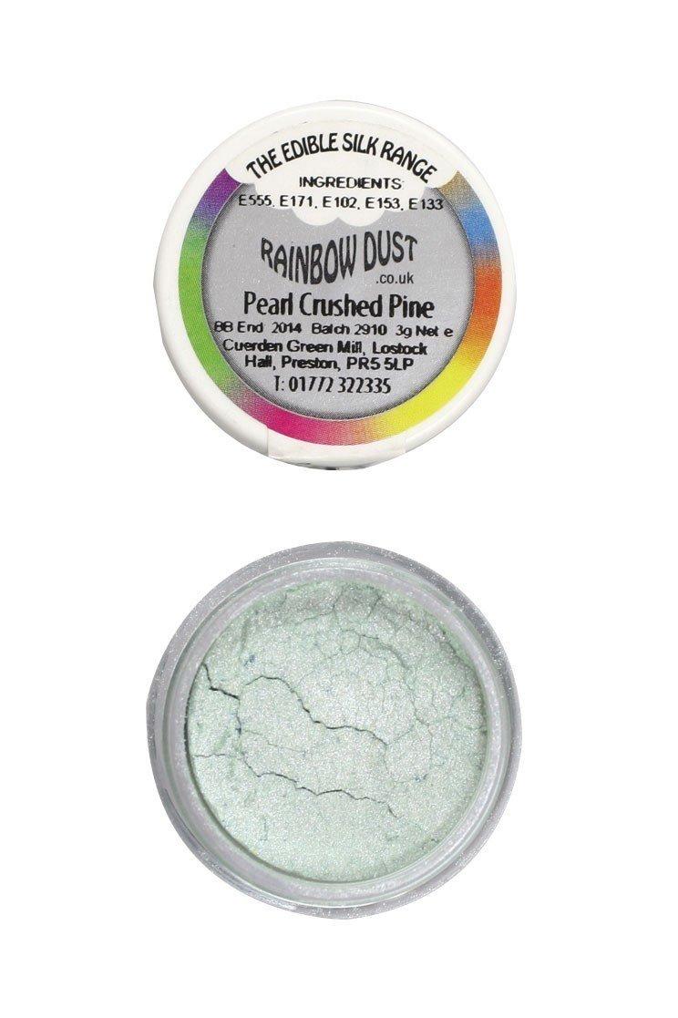 Rainbow Dust - Edible Dust Pearl Crushed Pine - Βρώσιμη Σκόνη Περλέ Πράσινο Θρυμματισμένο Πεύκο
