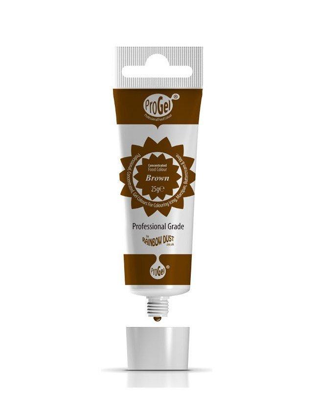 Rainbow Dust - ProGel® Brown - Χρώμα Πάστα/Ζελέ Καφέ - 25γρ