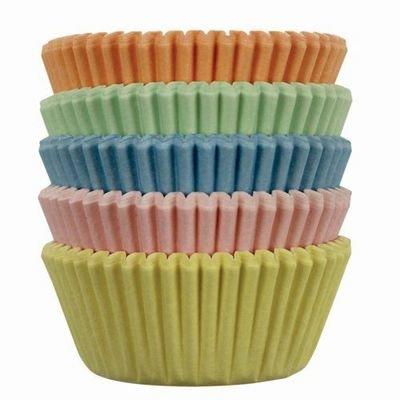 PME Cupcake Cases -MINI PASTEL COLOURS Παστέλ Μίνι Θήκες Ψησίματος για Κάπκεϊκς 100τεμ