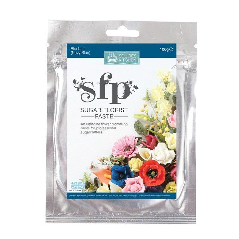 SALE!!! Squires Kitchen -Flower Paste BLUEBELL (Navy Blue) -Πάστα Λουλουδιών 100γρ -Σκούρο Μπλε-ΑΝΑΛΩΣΗ ΚΑΤΑ ΠΡΟΤΙΜΗΣΗ 07/2020