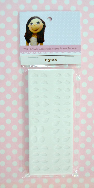 Tal Tsafrir Silicone Mould -Assorted Eyes -Καλούπι σιλικόνης για μάτια