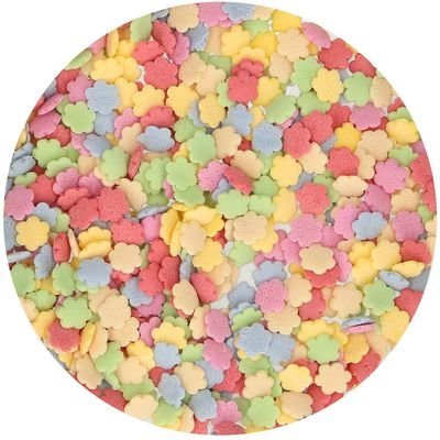 FunCakes Sprinkles -FLOWER MIX -Κονφετί Μπουκέτο Λουλουδιών 60γρ