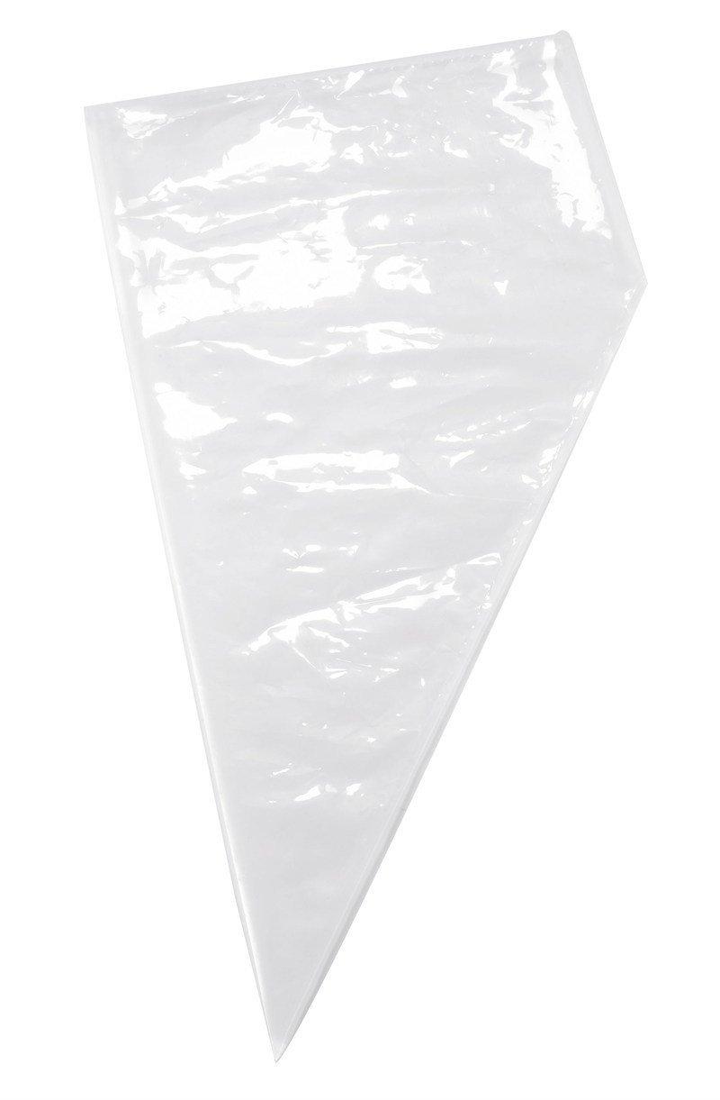 "Disposable Piping Bag 53cm (21"") Clear - Αναλώσιμη Σακούλα Κορνέ - Διάφανη - 52εκ"