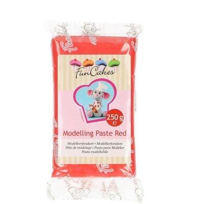 FunCakes Modelling Paste -RED -Ζαχαρόπαστα Mοντελισμού -Κόκκινη 250γρ