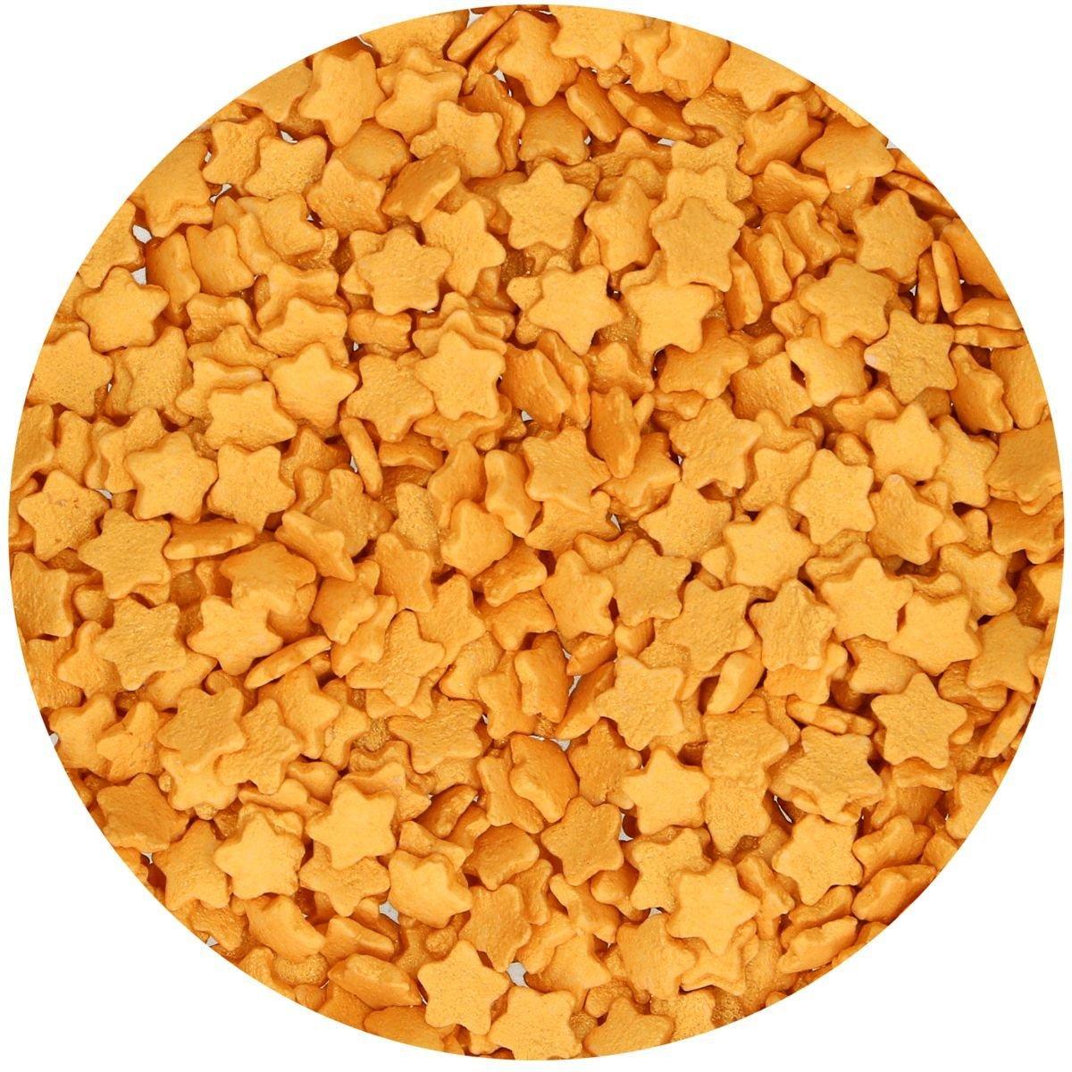 FunCakes Sprinkles -STARS -GOLD -Κονφετί Χρυσό Αστέρι 60γρ