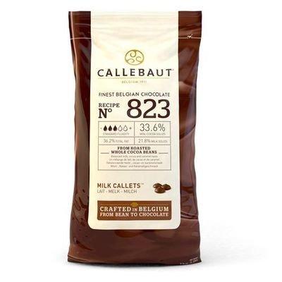 Callebaut Chocolate Callets -MILK CHOCOLATE -Σταγόνες Βέλγικης Σοκολάτας Γάλακτος 1 κιλό