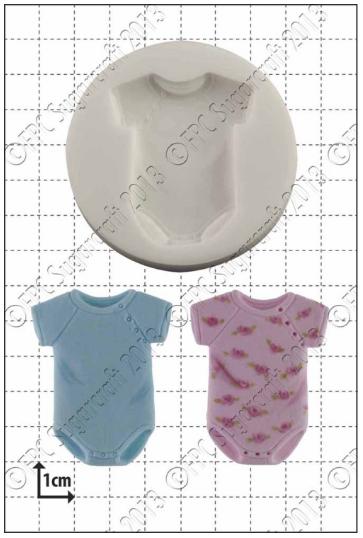 FPC - Baby Sleepsuit Silicone Mould - Καλούπι Φορμάκι Μωρού