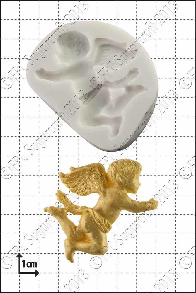FPC Silicone Mould -FLYING CHERUB -Καλούπι Ιπτάμενο Αγγελάκι