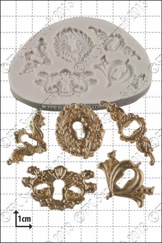 FPC - Keyholes Mould - Καλούπι Κλειδαρότρυπες