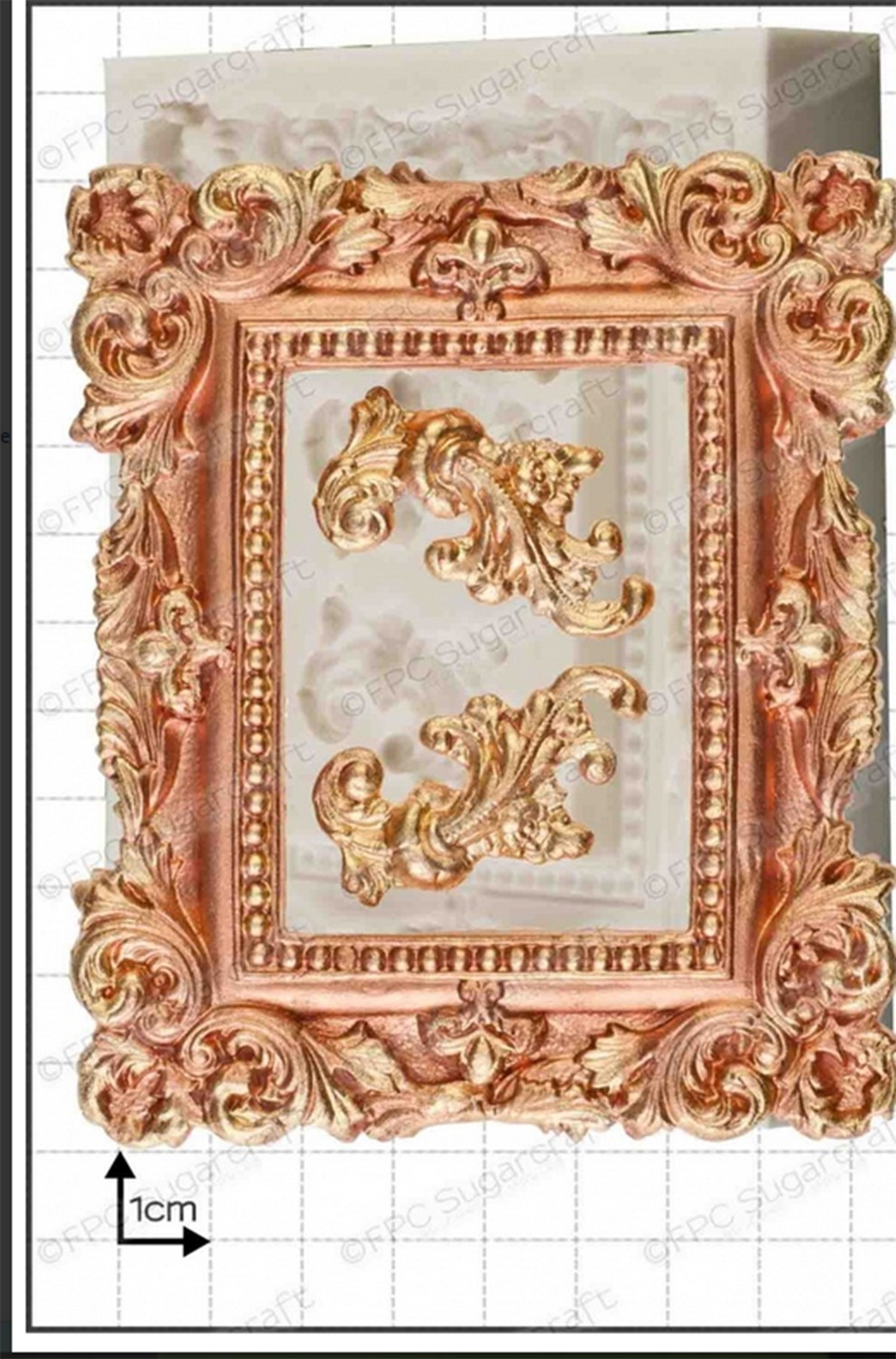 By FPC -Silicone Mould -FRAME -LARGE PICTURE FRAME -Καλούπι Μεγάλη Κορνίζα