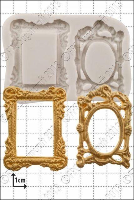 FPC - Picture Frames Silicone Mould - Καλούπι Κορνίζες Φωτογραφίας