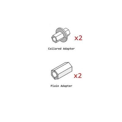 SALE!!! By Cake Frame - Adapters Pack - Προσαρμογείς για Πλατφόρμα Στήριξης - 4τεμ