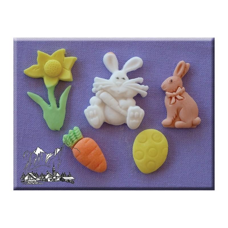 SALE!!! Alphabet Moulds- Easter -Καλούπι