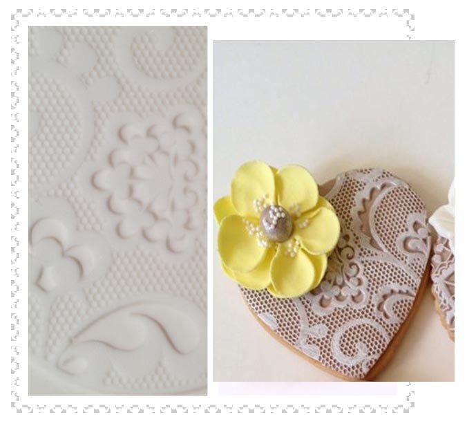 SALE!!! by The Sugar Tales -Lace Art Doily -Πατάκι Δαντέλας no.3