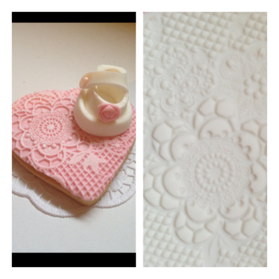 SALE!!! by The Sugar Tales -Lace Art Doily -Πατάκι Δαντέλας no.1