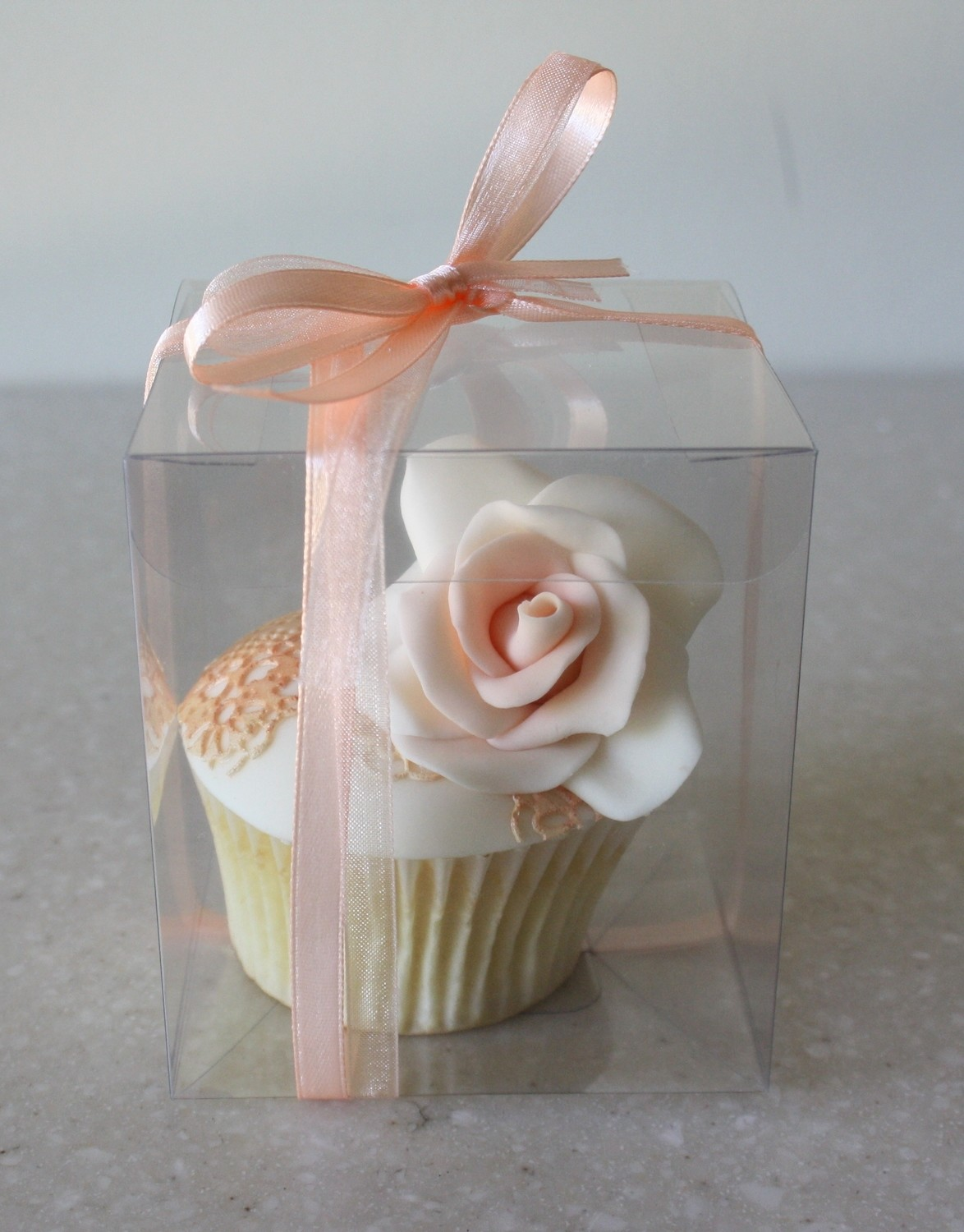#Clear Cupcake Display Box 8x8x9cm - Διάφανο Κουτάκι για Cupcake 8x8x9εκ