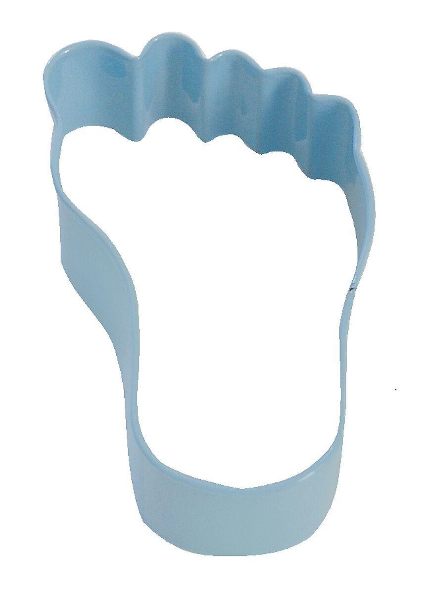 By AH -Cookie Cutter -BABY'S FOOT -BLUE -Κουπάτ Ποδαράκι Μωρού Μπλε 9εκ