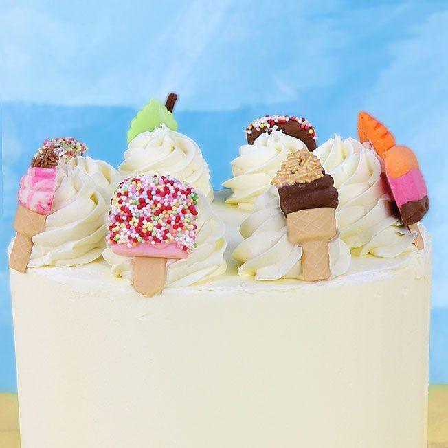 JEM Pop It Mould -ICE CREAM -Καλούπι Παγωτού 2 τεμ
