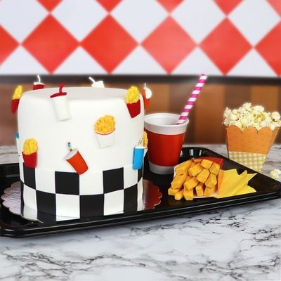 JEM - Pop It Mould Fries & Drink 2pcs - Καλούπι Πατάτες με Αναψυκτικό - 2τεμ - 27x41+ 20x50χιλ