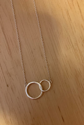 Entwining Circles Necklace