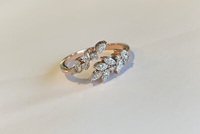 Arianna Bypass Diamond Ring