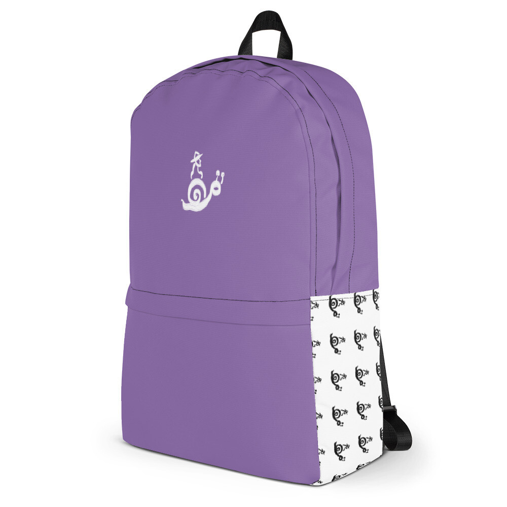 OMOiOMO Logo Knapsack in Purple