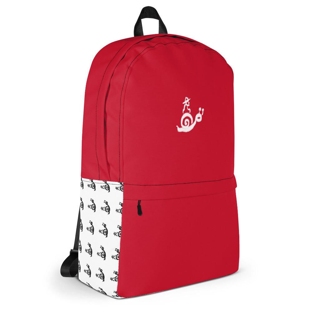 OMOiOMO Logo Knapsack in Red