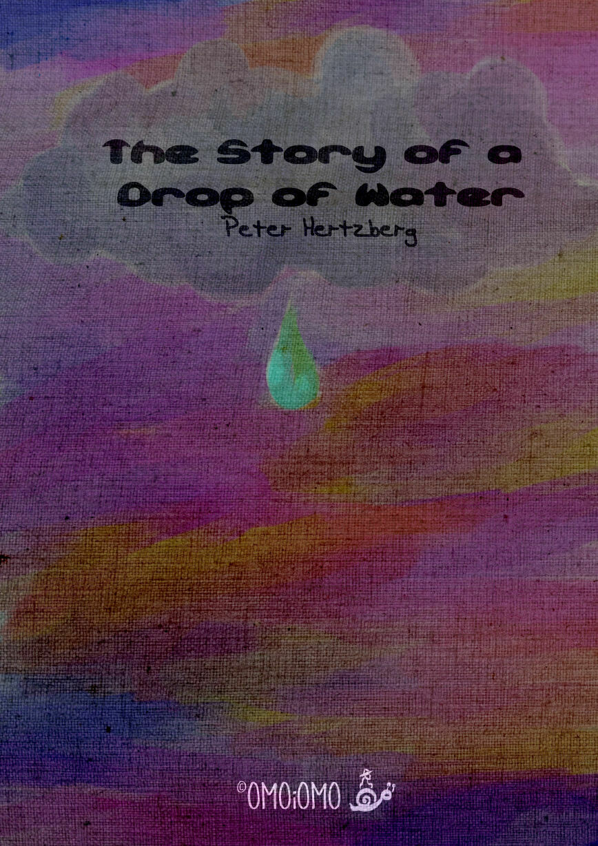 The Story of a Drop of Water - Text-free Picture Book PDF (ENG / SWE / ESP / FiN)