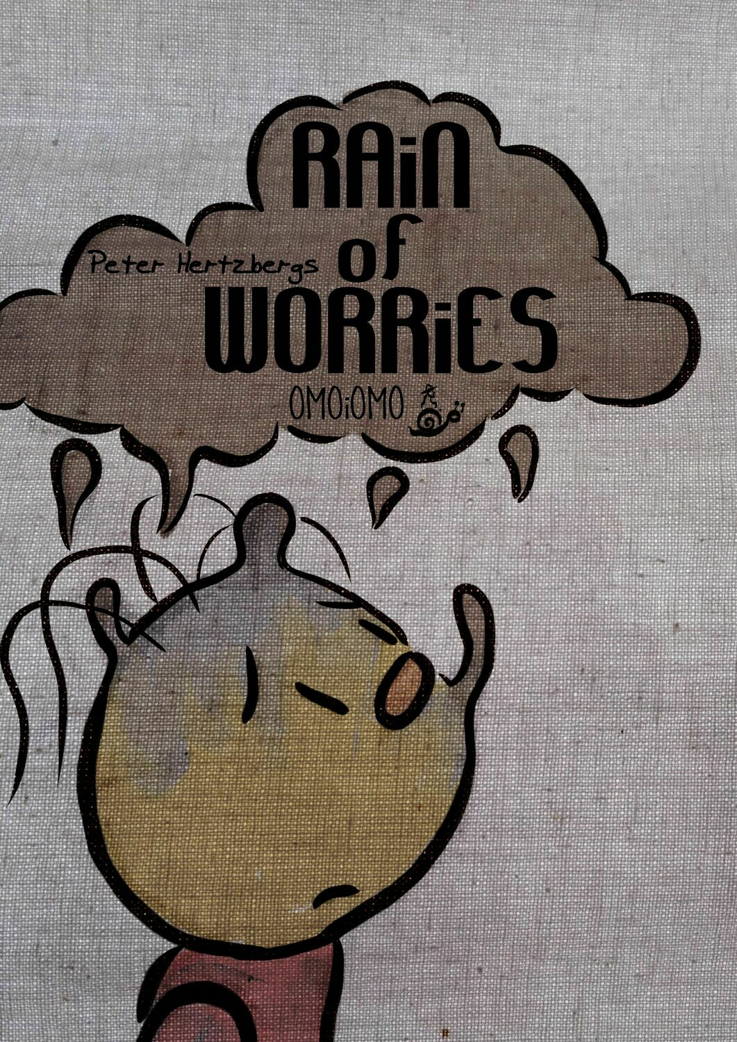 Rain of Worries - Text-free Picture Book PDF (ENG/SWE/ESP/FiN)