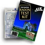 AirChek Charcoal Radon Test Kit