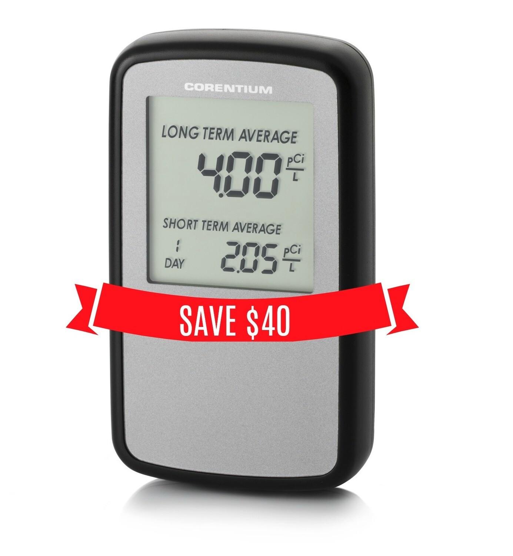 SALE Corentium Digital Radon Monitor